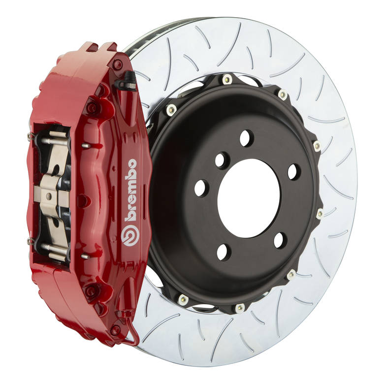 brakes Brembo GT Type 3 Front Big Brake Kit Red 355mm x 32mm 2-Piece 4-Piston 1B3.8024A2