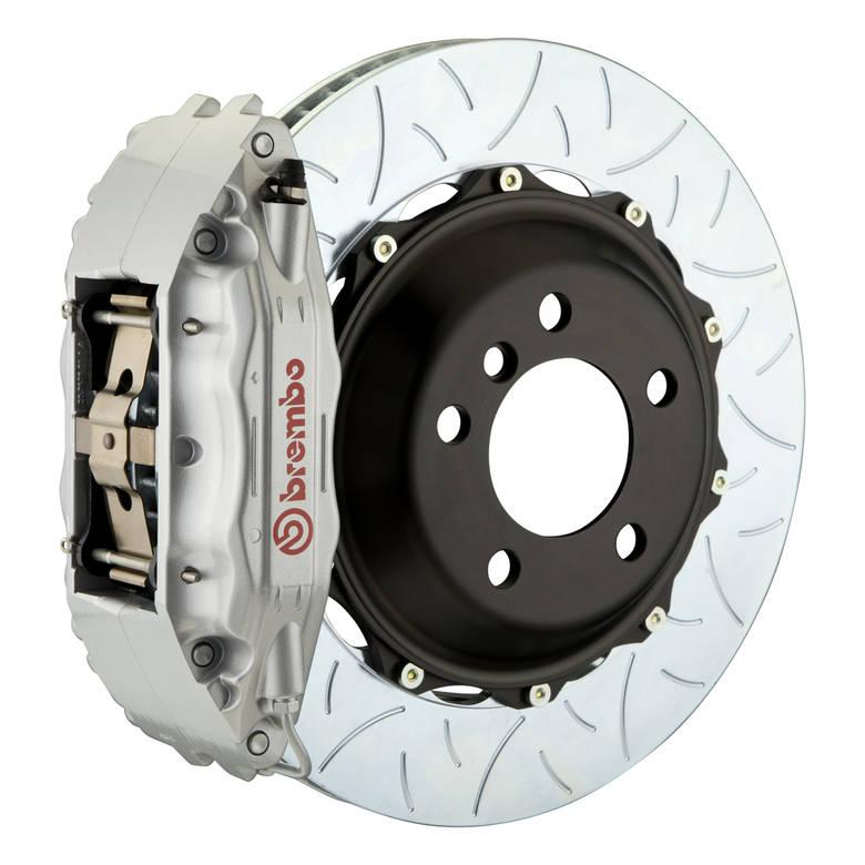 brakes Brembo GT Type 3 Front Big Brake Kit Silver 355mm x 32mm 2-Piece 4-Piston 1B3.8024A3