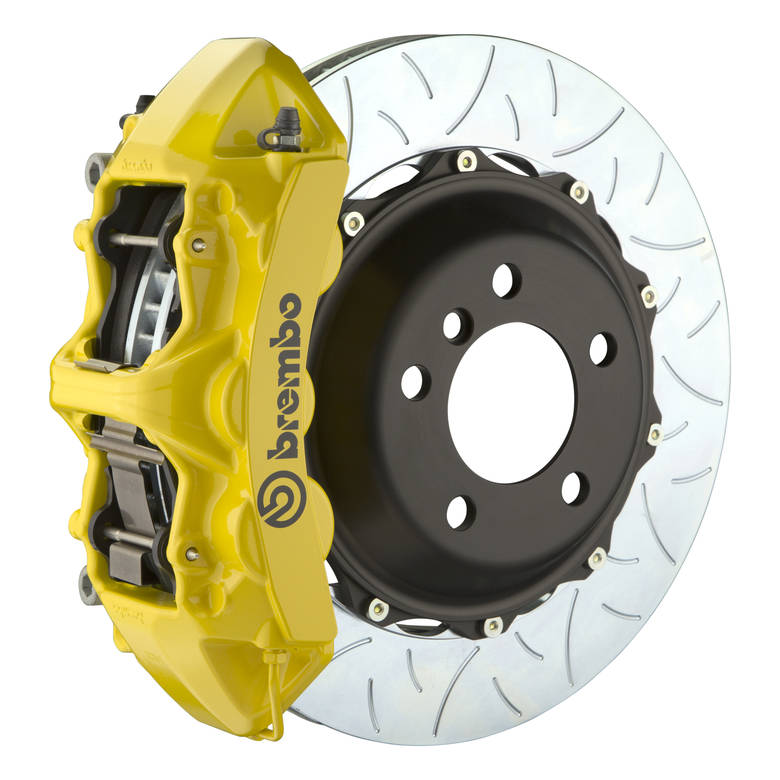 brakes Brembo GT Type 3 Front Big Brake Kit Yellow 355mm x 32mm 2-Piece 6-Piston 1M3.8030A5