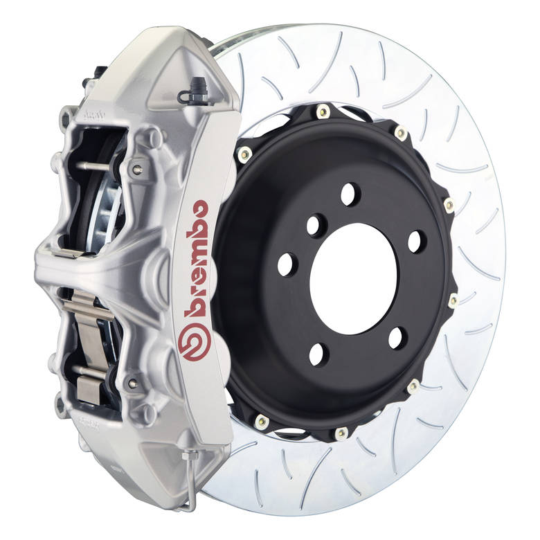 brakes Brembo GT Type 3 Front Big Brake Kit Silver 355mm x 32mm 2-Piece 6-Piston 1M3.8030A3